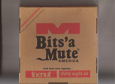 """Toenut & Thirty Ought Six - Bits`a Mute America ( Box with 7"""" + postcards etc )"""