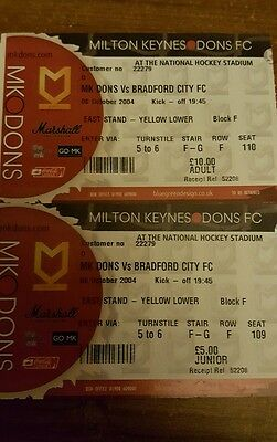 pair of football  tickets