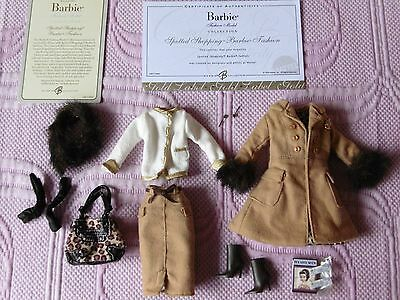 SILKSTONE SPOTTED SHOPPING BARBIE FASHION MODEL OUTFIT (see description)