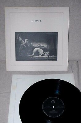 LP JOY DIVISION, Closer Vinyl Factory Records Made in UK New Order Post Punk
