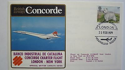 Concorde British Airways Cover London New York