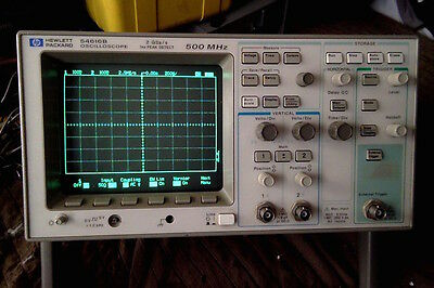 HP 54616B oscilloscope with FFT module