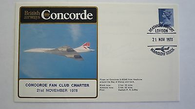 Concorde British Airways Cover Concorde Fan Club