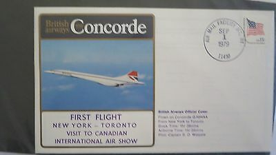 Concorde British Airways Cover Canadian Air Show