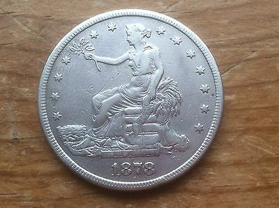 1878-S US Silver Trade Dollar @@ must see @@