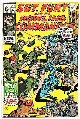MARVEL COMIC Sgt Fury and His Howling Commandos (1963- 1981)   # 82  Fine +