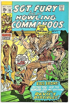 MARVEL COMIC Sgt Fury and His Howling Commandos (1963- 1981)   # 84  Very Fine