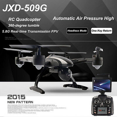 JXD 509G RC Drone Quadcopter with HD Monitor Camera 5.8G FPV Altitude Hold#2