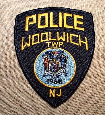 NJ Woolwich Twp. New Jersey Police Patch
