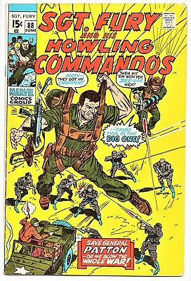 MARVEL COMIC Sgt Fury and His Howling Commandos (1963- 1981)   # 88  Very Good+