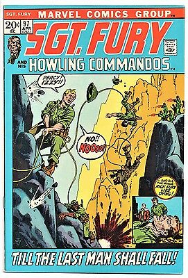 MARVEL COMIC Sgt Fury and His Howling Commandos (1963- 1981)   # 97  Very Fine -