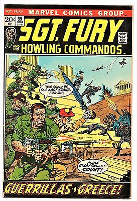 MARVEL COMIC Sgt Fury and His Howling Commandos (1963- 1981)   # 99  Very Good