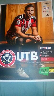 sheffield united v shrewsbury town 2016