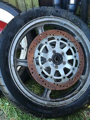 Kawasaki ZR550 Zephyr Front Wheel with Discs