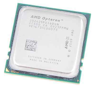 AMD OPTERON 2425 HE 6-Core OS2425PDS6DGN / 6x 2.1 GHz / 6 MB L3 / Socket F TH2NK