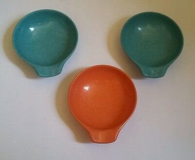 Russell Wright Residential Northern Handled Cereal Bowls (3) Vintage