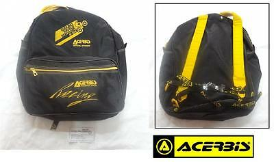 Borsa zaino bag MOTO viaggio pouch backpack cross regolarità trial ACERBIS nera
