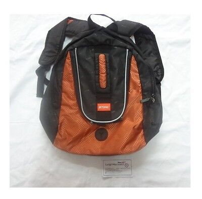 Borsa zaino bag Motosega chainsaw viaggio backpack cross trial STIHL vintage