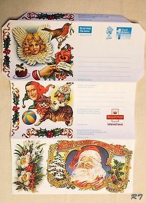 Great Britain Aerogramme Christmas 1992