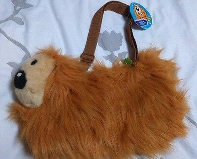 The Magic Roundabout Dougal Plush Dog Character Kids Shoulder Bag – Bnwt