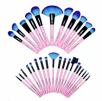SPECTRUM COLLECTION Individual GENUINE Brushes PINK Vegan & Cruelty Free NEW DUO