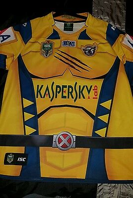 Manly Sea Eagles ISC 2014 NRL Marvel Wolverine Jersey xxxl