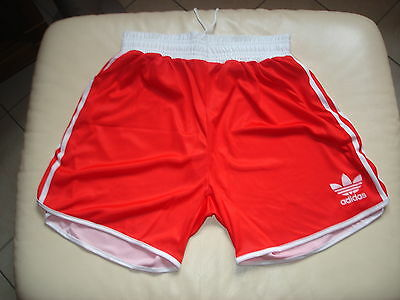 shorts ADIDAS boxe boxing basket satin brillant taille XL vintage 80 shiny neuf