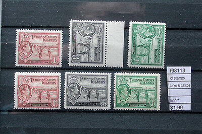 Lot Stamps Turks & Caicos Mnh** (F98113)