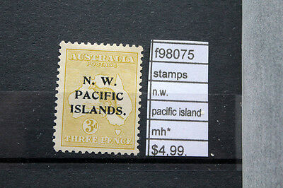 Stamps N.w. Pacific Islands Mh* (F98075)