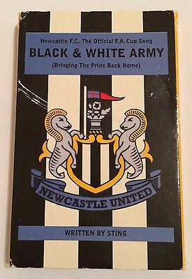 Rare Official 1998 Newcastle United FA Cup Final Song