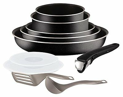 Tefal L2009802 Set de poêles et casseroles - Ingenio 5 Essential Noir Set 1 NEW