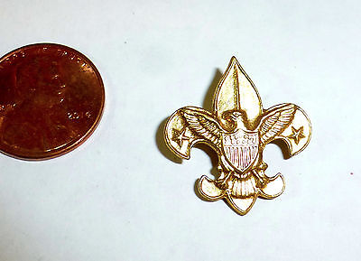 """Boy Scouts of America pin badge, 1911 patent """"Be Prepared"""" BSA"""