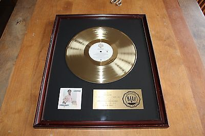 Al Jarreau / USA RIAA Gold LP Award / Breakin Away 1981 / 500,000 sold