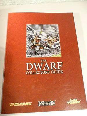 Warhammer The Dwarf Collectors' Guide Pb Book Freepost Uk Games Workshop
