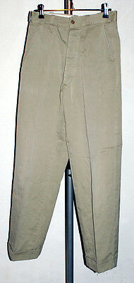 Ww2 Real Chino Army Pants Vintage 40's