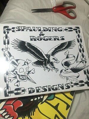 Spaulding And Rogers Tattoo Flash Book Traditional