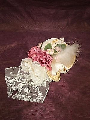 Phyllis Parkins Victorian Collection Hat Doll Accessory | Lace