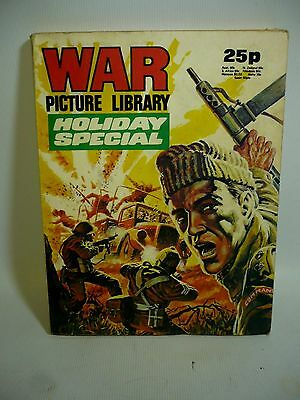 1975 War Picture Library Holiday Special - 4 Long Stories