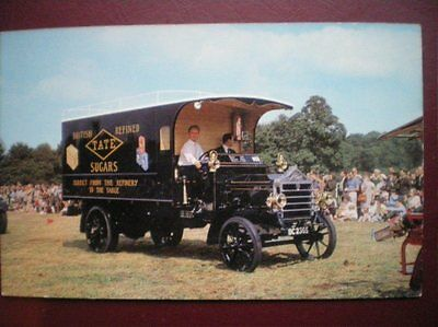 Postcard Haulage 1913 Mc Curd Box Lorry - Tate Sugars