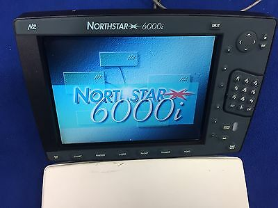 "Northstar 6000i 10.4"" Color GPS Chartplotter Multi-Function Display W/ Cover"