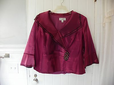 Women's 18W PINK EVENING OCCASION BLOUSE
