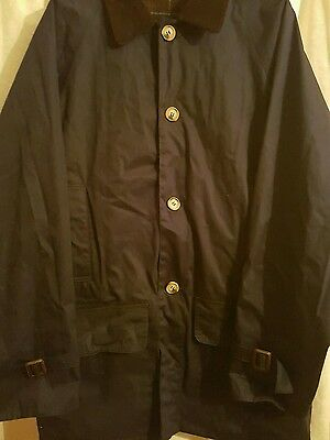 Bnwot Barbour Waxed Riding Coat  Large