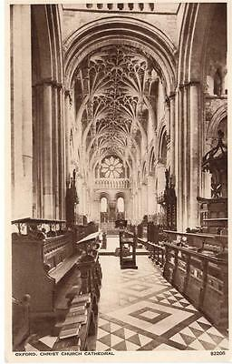 Oxfordshire - Oxford, Christ Church Cathedral (Photochrom)