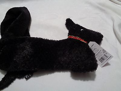 New with tags from 2003 North American Bear co. Scottie dog long scarf for child