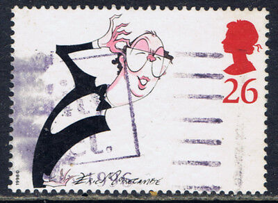 Great Britain #1810(1) 1998 26 pence COMEDIANS - ERIC MORECAMBE Used