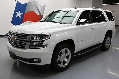 2015 Chevrolet Tahoe LTZ Sport Utility 4-Door 2015 CHEVY TAHOE LTZ SUNROOF NAV DVD REAR CAM 20'S 29K #284540 Texas Direct Auto