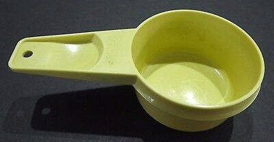 Tupperware #765      1/3 Cup Replacement Parts,    Harvest Gold,   FREE SHIppINg