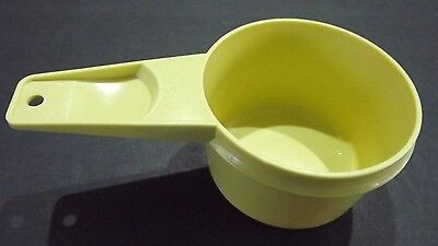 Tupperware #764      ½ Cup Replacement Parts     Harvest Gold,   FREE SHIppINg