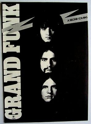 GRAND FUNK RAILROAD 1970 Poster Ad SECOND COMING closer to home