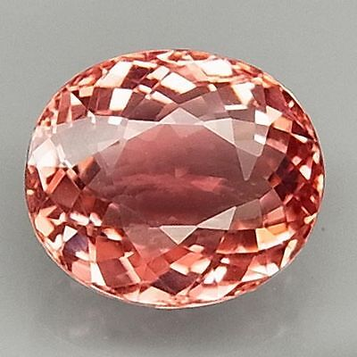 2.60Ct.natural Pink Color Tourmaline Oval Facet